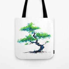 Blue Bonsai Tote Bag