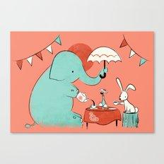 Tea Party Canvas Print
