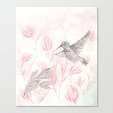 Delicate Symphony Canvas Print