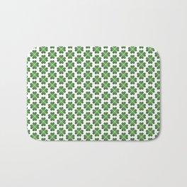 Hearts Clover Pattern Bath Mat