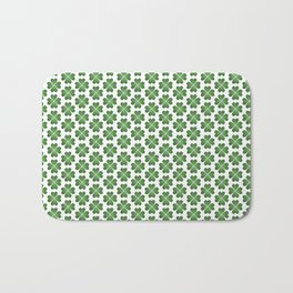 Hearts Clover Pattern Bath Mat