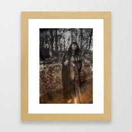 Hexen Tanz III Framed Art Print