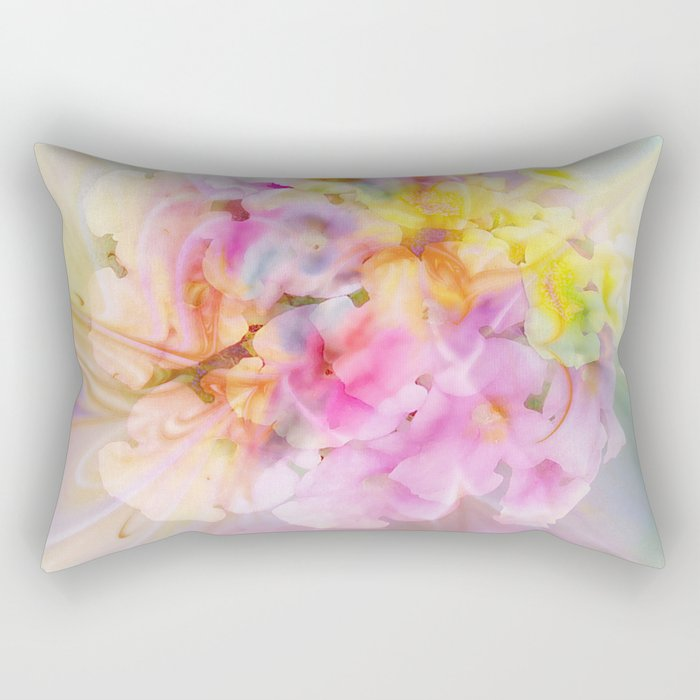 Hydrangea Fantasy Rectangular Pillow
