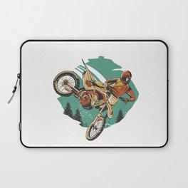 Freestyle Motorcycle Stunts FMX Laptop Sleeve