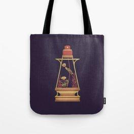 """poster : bottle 6 """"flacon à voiles"""" Tote Bag"""
