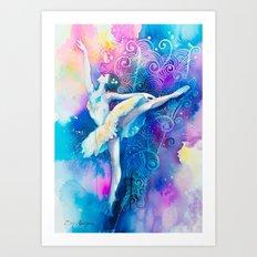 Ballerinaaa Art Print