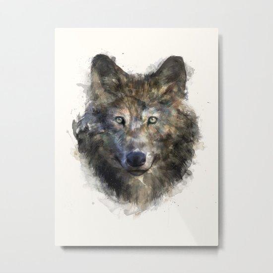 Wolf // Secure Metal Print