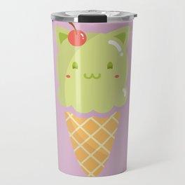 Pistachio Ice-cream Travel Mug