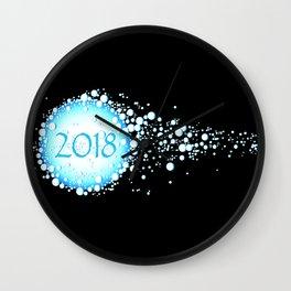 Water Bubbles 2018 Wall Clock