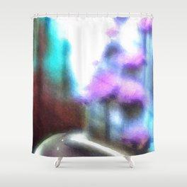 Straight Ahead Shower Curtain