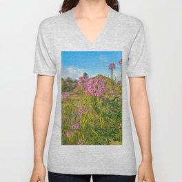 Colorado Wildflowers Unisex V-Neck
