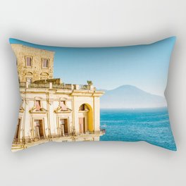 Donn'Anna palace, Naples Rectangular Pillow