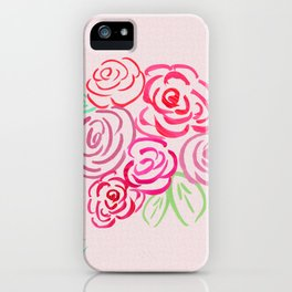 Glorious Rose bunch iPhone Case
