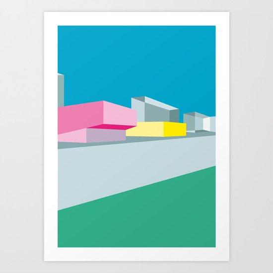 Berlin Perspectives - Kino International Art Print
