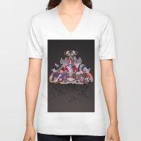 velvet underground V-neck T-shirts featuring Underground by Sam Pierpoint