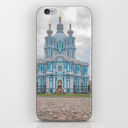 Smolny Cathedrale Saint Petersburg iPhone Skin