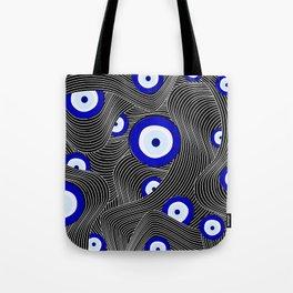 Swerve Evil Eye Tote Bag
