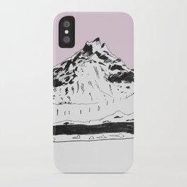 a mountain iPhone Case