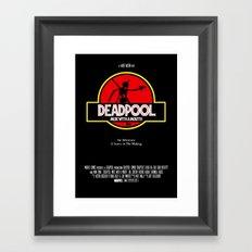 Deadpool : Merc with a Mouth Framed Art Print