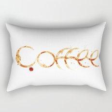 Coffe colors fashion Jacob's Paris Rectangular Pillow