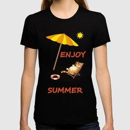 enjoy sunny summer T-shirt