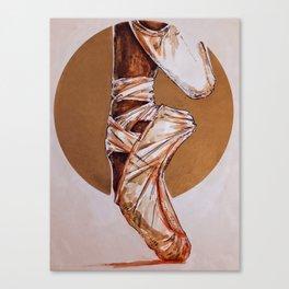 On pointes Canvas Print
