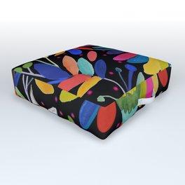 pajaros Otomi Outdoor Floor Cushion