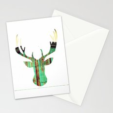 deer rust Stationery Cards