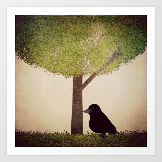 Crow-196 Art Print