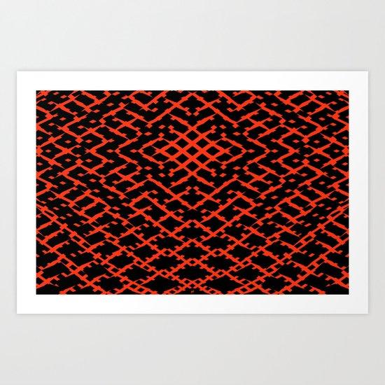 Pattern #5 Art Print