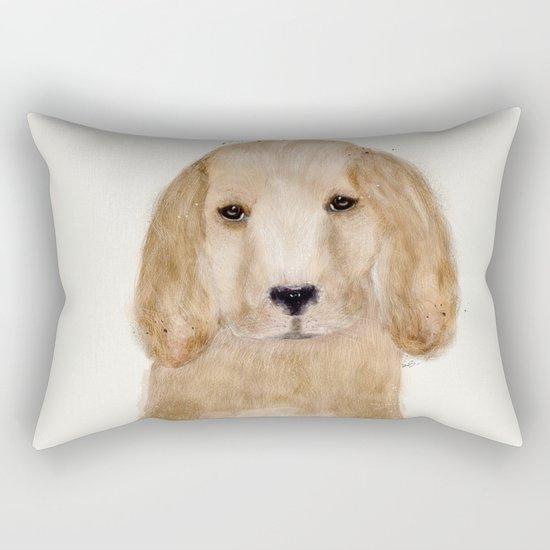 little spaniel Rectangular Pillow
