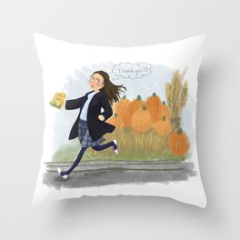 Kiss and Tell Throw Pillow