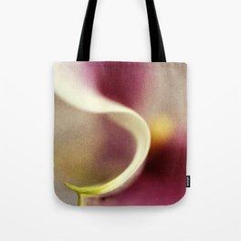 Calla Lily AbstractI Tote Bag