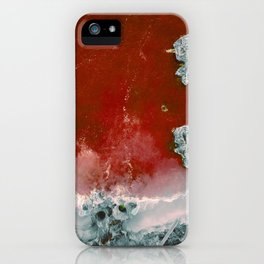 Red water iPhone Case