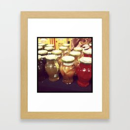 Canning Collection Framed Art Print