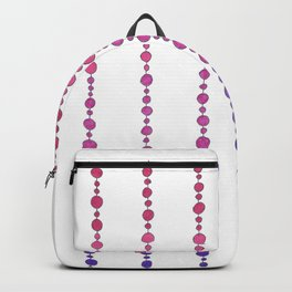 Happy Hanging Beads Backpack