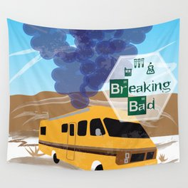 Breaking Bad Lab Wall Tapestry