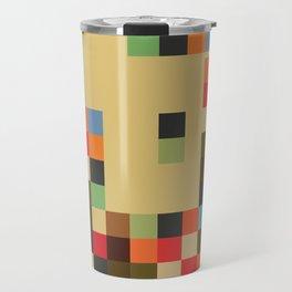 Mid Century Textile Series 1_1 Travel Mug