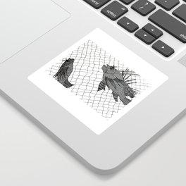 Lionfish Catch Sticker