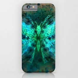 Butterfly Abstract G541 iPhone Case