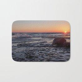 Sandbanks Sunset #2 Bath Mat