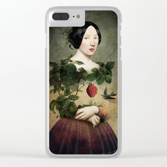 Sweet Heart Clear iPhone Case