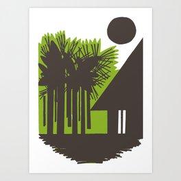 Choza Art Print