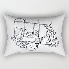 Tuk Tuk Thailand Rectangular Pillow