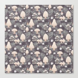 Forest Gnomes Canvas Print
