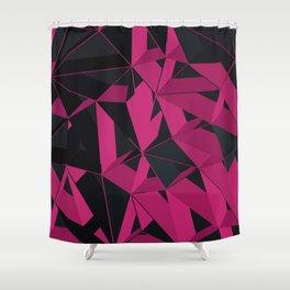3D Futuristic GEO III Shower Curtain
