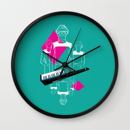 Whip It Wall Clock