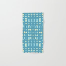 Shades Of Blue On Blue Hand & Bath Towel