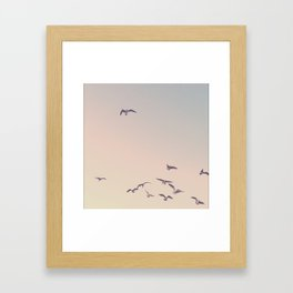 break away from the crowd Framed Art Print