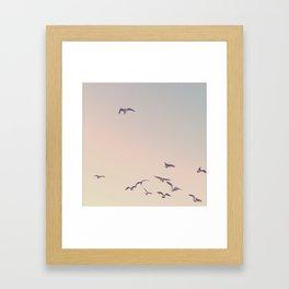 break away from the crowd Framed Art Print